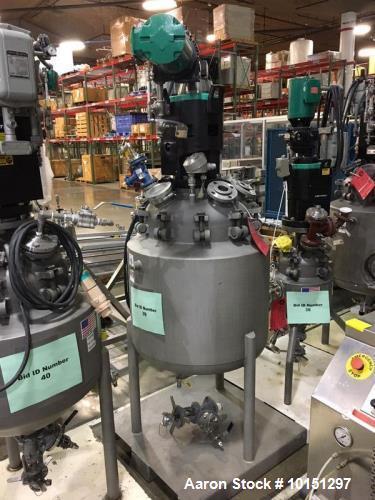Used- 50 Gallon Hastelloy Reactor