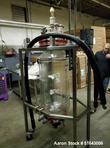 Used-100 Liter Reactor Support Frame