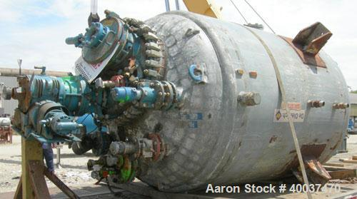 Used- 1000 Gallon Glass Lined De Dietrich Reactor