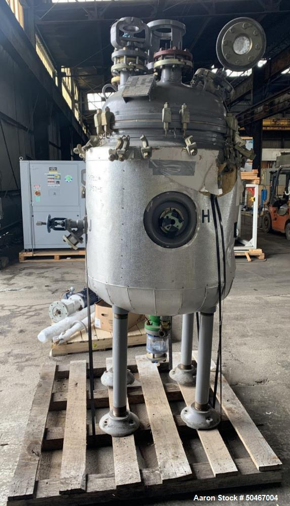 Used- Dedietrich Glass Lined Reactor,100 gallon