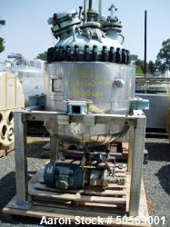 Used- Pfaudler Glass-Lined Reactor,100 Gallon