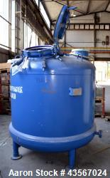 Used- Tycon Glass Lined Reactor, 2834 Liter (748.88 Gallon)