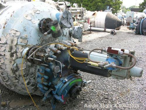 Used- 750 Gallon Glass Lined Pfaudler Reactor