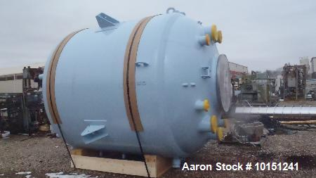 Reglassed/Unused- Pfaudler 3000 Gallon Reactor Body Only. Internal rated 100 PSI/FV at 650 deg. F. Jacket 90 PSI. Side lugs.