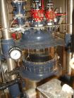 Used-Used 160 liter R & M Italia glass reactor train with 160 liter glass lined reactor, removable dish top, dish bottom, in...