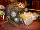 Used- DeDietrich Glass Lined Clamp Top Reactor, 200 Gallon, 3008 Blue Glass. Approximately 40'' diameter x 40'' straight sid...