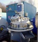 Used- De Dietrich Glass Lined Reactor, 1180 Liter (311.81 Gallon), 3009 Blue Glass, Vertical. Approximately 48
