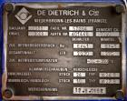 Used- De Dietrich Glass Lined Reactor, 2030 Liter (536.43 Gallon), 3009 Blue Glass, Vertical. Approximately 54