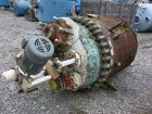 Used- Pfaudler Clamp Top Glass Lined Reactor, 200 gallon, 5025 white glass. Approximately 42