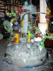Used- Pfaudler Glass Lined Reactor, 1000 Gallon, 9115 Blue Glass. Approximately 60