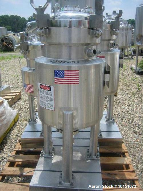 Used- DCI Stainless Steel Reactor, Approximately 30 Liter