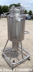 Used- Baumgartner & Co 186 Liter (49 Gallon) Stainless Steel Reactor