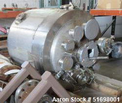 Used-Reactor, Stainless steel, Approximately 300 Gallon. Vessel only, no motor drive.  (Reportedly early 1990's vintage).