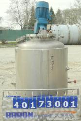 Used- A-L Stainless Inc Fermentor, 80 gallon