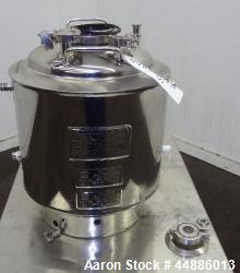 Used- Alloy Products Reactor, 30 Liters (7.9 Gallons)