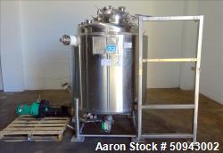 Used- DCI Reactor, 1,000 Liter (264 Gallon)