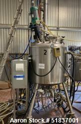 Lee Industries Reactor, 158 Gallon, Model 600 LU, 316L Stainless Steel, Vertical