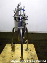 Used- Paul Mueller Reactor, 25 Liters (6.6 Gallon), 316 Stainless Steel
