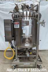 Used- Precision Stainless Reactor. 600 Liter (158.5 Gallon)