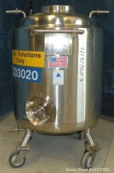Used- Precision Stainless Reactor, 52 Gallon (200 Liter)