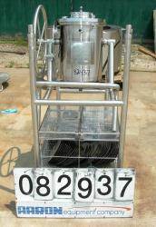 Used- Precision Stainless Steel Reactor, 17 Liter (4.49 Gallon)
