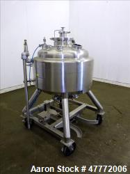 Used- Pure-flo/ ITT Industries Reactor, 150 Liter(39.62 Gallon), 316L Stainless