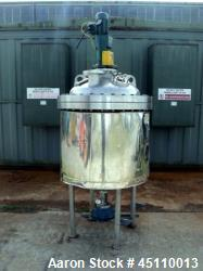 Used- Stainless Service Ltd. Reactor, Approximately 93 gallons