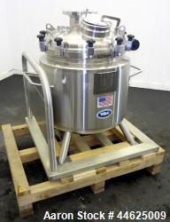 Used- T&C Stainless Reactor, 150 Liter (39 Gallon)