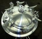 Used- Precision Stainless Reactor, 500 Liter (132.08 Gallon)
