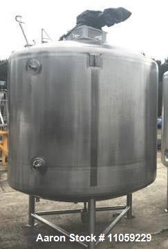 Used- 1200 Gallon (4500 Liter) Sanitary Pharmaceutical Reactor/Fermenter