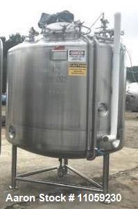 Used- 1200 Gallon (4500 Liter) Sanitary Pharmaceutical Reactor / Fermenter
