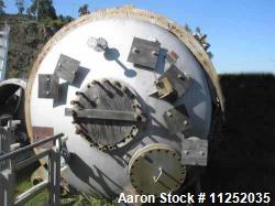 Used- Blaw Knox Reactor, 3000 Gallon