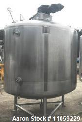 Used- 1200 Gallon (4500 Liter) Sanitary Pharmaceutical Reactor/Fermenter