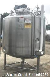 Used- 1200 Gallon (4500 Liter) Sanitary Pharmaceutical Reactor / Fermenter