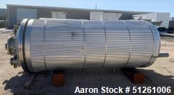 Stainless Steel 2,000 Gallon Reactor / Fermenter