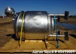 Used- INOX Industries Reactor, 792 Gallon / 3000 Liter, 316L Stainless Steel