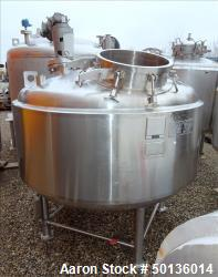 Used- Letsch Reactor, Approximate 650 Gallon, 316L Stainless Steel