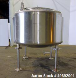 Used- Northland Stainless Inc. Reactor, Approximate 900 Gallon