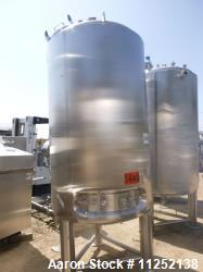 Used- Precision Stainless 660 Gallon Stainless Steel Reactor