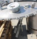 Used- J.C.Pardo & Sons Vacuum/Jacketed Mixing Tank, 500 Gallon
