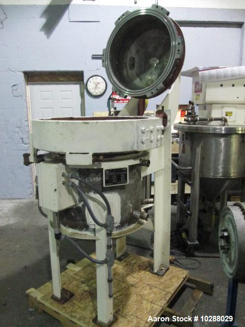 Used- 50 Gallon Stainless Steel Advanced Precision Fabricators  Reactor
