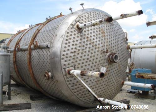 Used- Alloy Fab 12,000 Gallon 304L Stainless Steel Reactor.