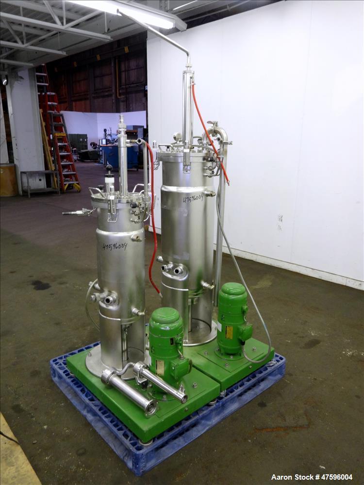 Used- B  Braun Fermentor System Consisting of: (1