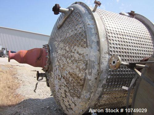 Used- 5050 Gallon Stainless Steel Brighton Reactor
