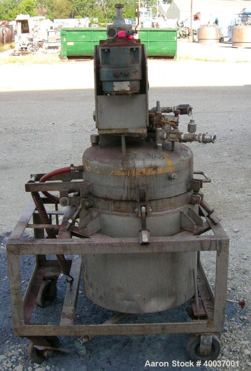 Used- 35 Gallon Stainless Steel Buckley Iron Works Reactor
