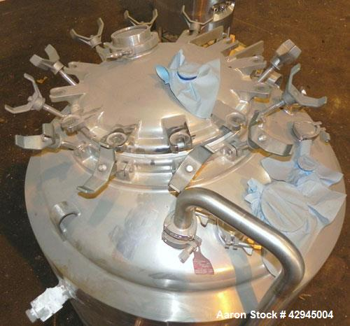Used- 750 Liter Stainless Steel DCI Reactor
