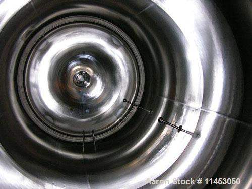 Unused-6300 liter (1660 gallon) Feldmeier reactor. 316L stainless steel construction, 25Ra electro-polished internal finish,...