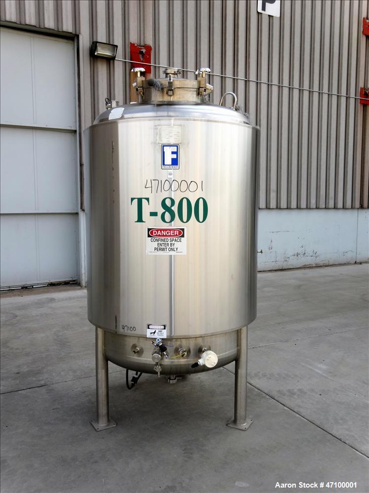 Used- Feldmeier Equipment Reactor, 396 Gallons (1500 Liters)