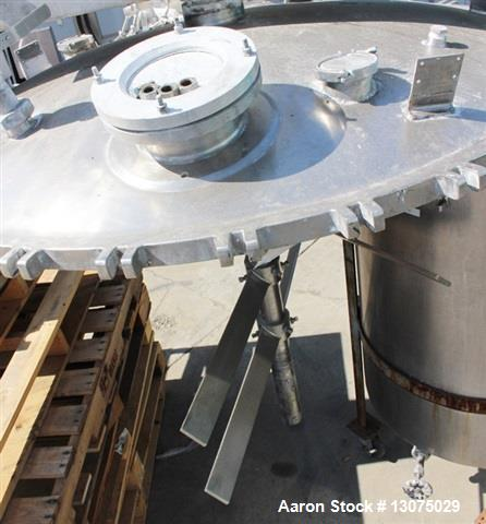 Used- 500 Gallon J.C.Pardo & Sons Vacuum/Jacketed Mixing Tank