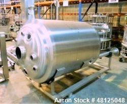 Used- BCD Engineering 700 Liter (114.9 Gallon) Reactor Body, 316L Stainless Stee